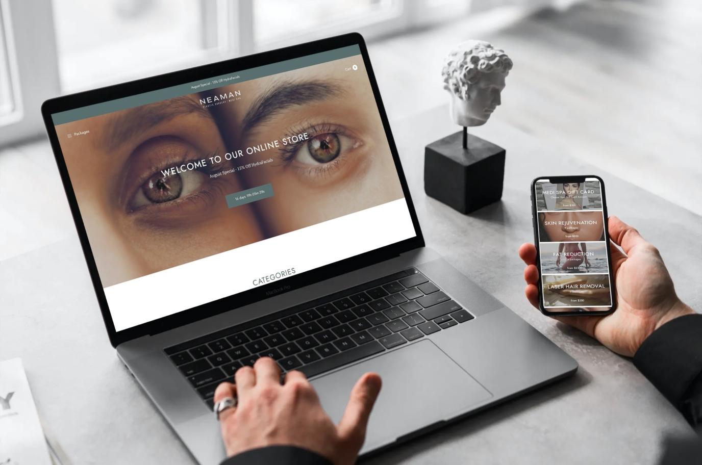 MedSpa Online Store
